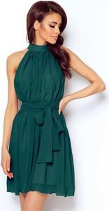Sukienka Ivon z szyfonu mini bez rękawów