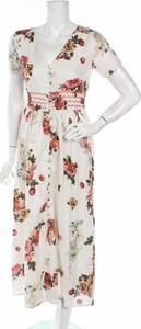 Sukienka Peace & Love z dekoltem w kształcie litery v maxi
