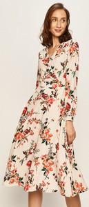 Sukienka Morgan z długim rękawem midi