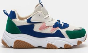 Buty sportowe Sinsay sznurowane na platformie