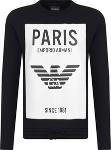 Bluza Emporio Armani w młodzieżowym stylu ze skóry ekologicznej