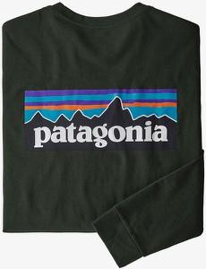 Koszulka z długim rękawem Patagonia w sportowym stylu z bawełny z długim rękawem