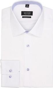 Biała koszula recman z długim rękawem