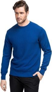 Granatowy sweter Giacomo Conti