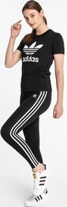 Czarne legginsy Adidas w sportowym stylu