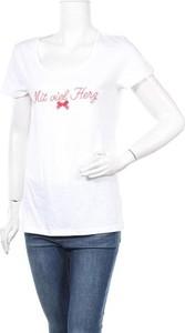 T-shirt Louis & Louisa z okrągłym dekoltem z bawełny
