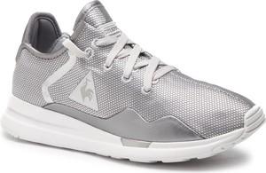 Buty sportowe Le Coq Sportif w sportowym stylu ze skóry ekologicznej z płaską podeszwą