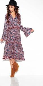 Sukienka Merg z dekoltem w kształcie litery v