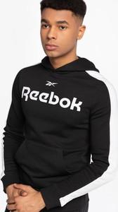 Czarna bluza Reebok w sportowym stylu