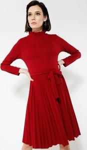 Renee bordowa sukienka for you