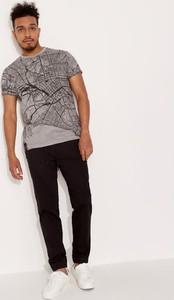 T-shirt Diverse z krótkim rękawem z bawełny
