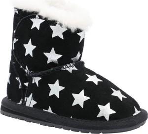 Buty dziecięce zimowe Emu Australia ze skóry