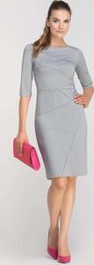 Sukienka Lanti mini z krótkim rękawem