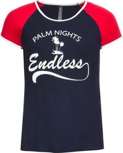Niebieski t-shirt bonprix RAINBOW