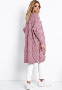Różowy sweter Fobya