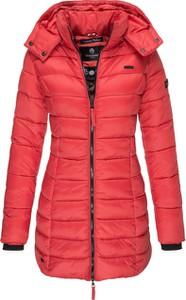 Czerwony płaszcz Marikoo
