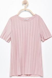 Różowa bluzka dziecięca Reserved