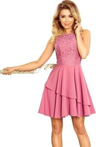 Sukienka NUMOCO z okrągłym dekoltem