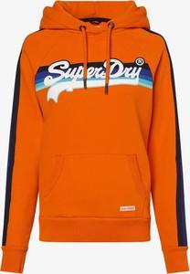 Pomarańczowa bluza Superdry