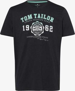T-shirt Tom Tailor z krótkim rękawem w młodzieżowym stylu