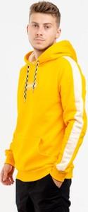 Żółta bluza Hype z bawełny