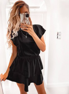 Sukienka Pakuten z bawełny mini