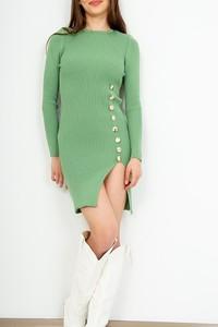 Sukienka ZOiO.pl z długim rękawem w stylu casual
