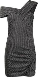 Czarna sukienka Iro mini z dekoltem w kształcie litery v