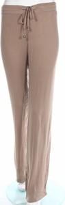 Brązowe spodnie Chiara Bruni w stylu retro