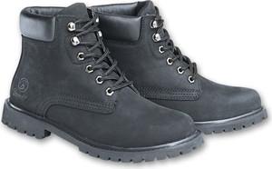 Buty zimowe Brandit sznurowane ze skóry