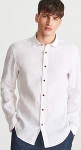 Koszula Reserved w stylu casual z lnu