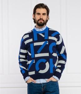 Niebieski sweter Kenzo w młodzieżowym stylu