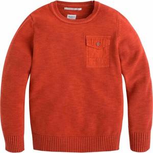 Czerwona bluza dziecięca Pepe-jeans