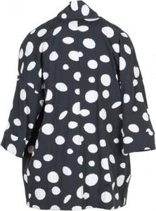 Czarna kurtka Manila Grace z bawełny w stylu casual