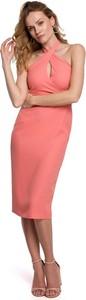Sukienka MOE ołówkowa midi