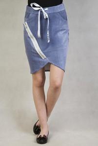 Niebieska spódnica Olika w sportowym stylu