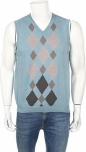Niebieski sweter Van Heusen