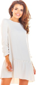 Sukienka Awama oversize z tkaniny mini