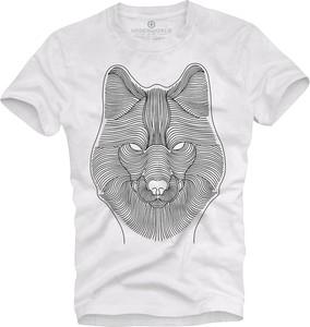 T-shirt Underworld z bawełny w młodzieżowym stylu