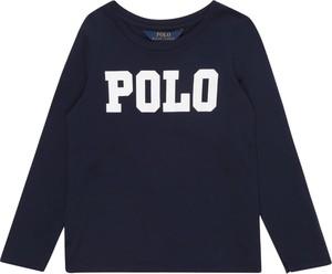 Bluzka dziecięca POLO RALPH LAUREN z dżerseju z długim rękawem