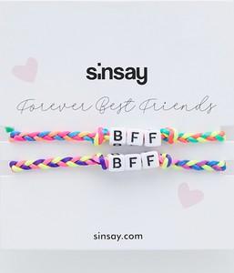 Sinsay - Zestaw bransoletek - Wielobarwny