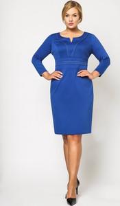Niebieska sukienka sukienki.pl