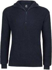 Granatowy sweter Brandit