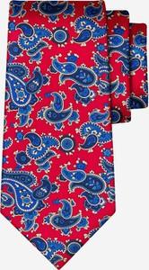 Fioletowy krawat Lambert