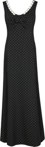 Sukienka Fokus maxi z satyny z dekoltem w kształcie litery v