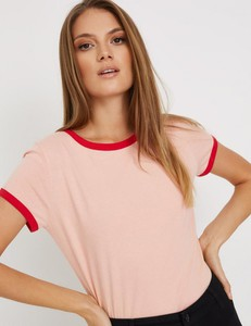 T-shirt Diverse z krótkim rękawem w stylu casual