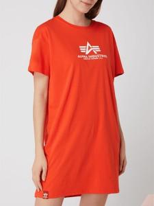 Sukienka Alpha Industries mini koszulowa z okrągłym dekoltem