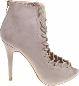Botki W.s Shoes na zamek
