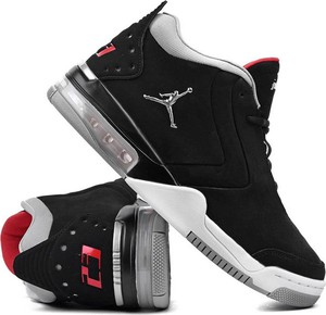 Buty sportowe Jordan sznurowane ze skóry