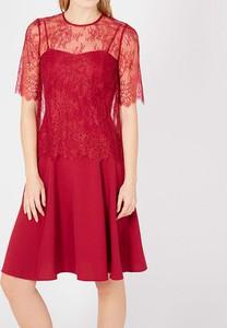 Sukienka Twinset z krótkim rękawem mini